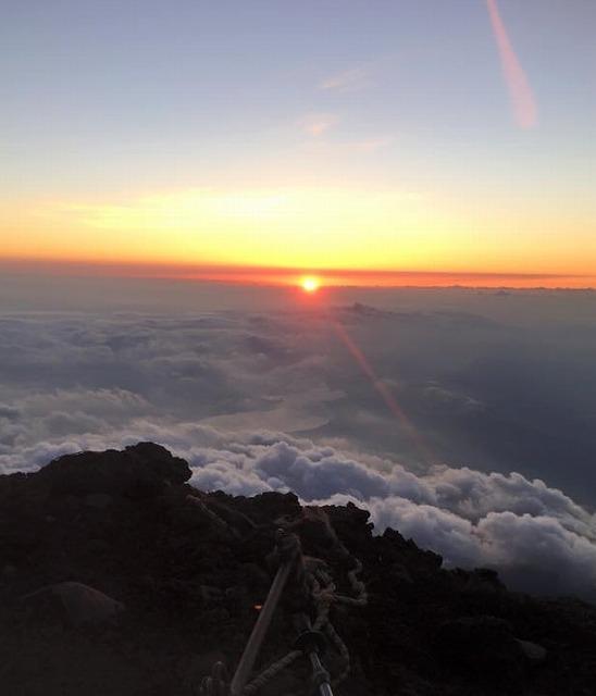 一生に一度は富士登山!