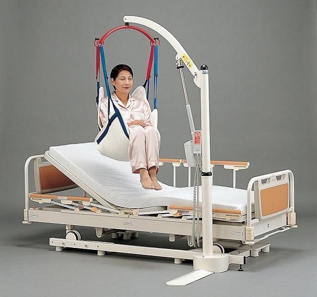 ベッド設置型リフト導入事例